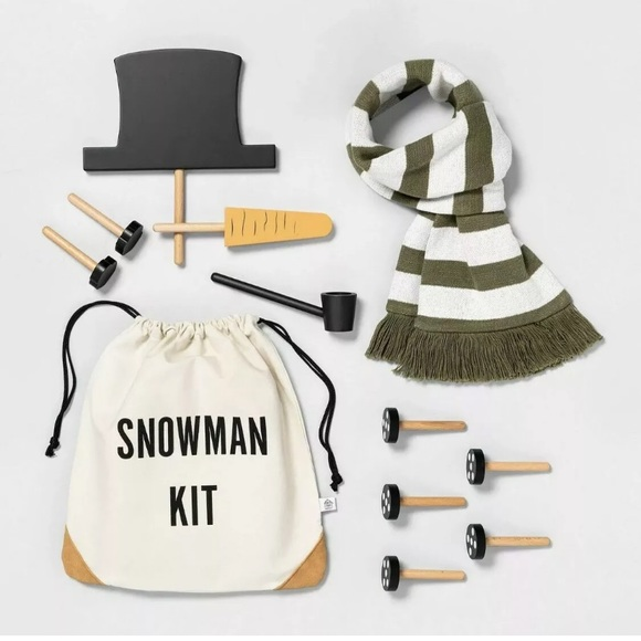 HEARTH AND HAND Magnolia Snowman Kit Winter NWT